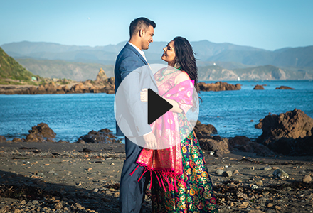 Karishma's pre-wedding video shot in and around wellingtion city, New Zealand.